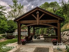 Western Timber Frame: America's Pergola Specialists Gallery Welcome to our timber frame gallery. Below we have examples of timber framing, pergolas, pergola kits, posts and beams, decks, and more. If you don't see what you are looking for here or have an idea in mind for your own backyard, don't hesitate to contact Architectural Landscape Design