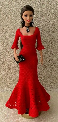 Knitted clothing for dolls / Descriptions / sale |  VK