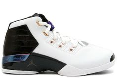 sale retailer afe71 6ad75 Buy and sell authentic Jordan 17 OG White Black Copper shoes and thousands  of other Jordan sneakers with price data and release dates.