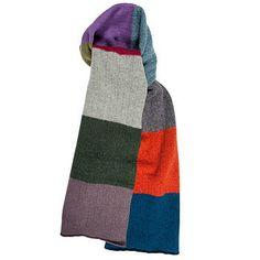Sjaal haken voor Brune