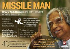 A great loss for India! India's most loved President! RIP #APJAbdulKalam