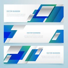 Banner Vector, Banner Template, Exhibition Banners, Web Banner Design, Web Design Inspiration, Geometric Shapes, Vector Free, Infographic, Presentation
