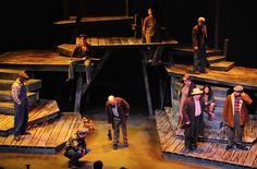 Floyd Collins. Greenbrier Valley Theatre. Set design by Richard Crowell. 2012