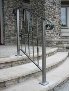 Outdoor Stair Railings | Pin it Like Website More