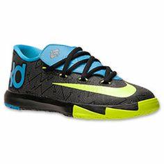 on sale e96ec 3f341 Boys  Little Kids  Nike Air KD 6 Basketball Shoes
