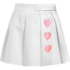 Heartz Skirt ($21) ❤ liked on Polyvore featuring skirts, bottoms and shorts/skirts