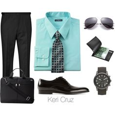 He Means Business, created by keri-cruz on Polyvore