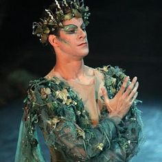 "Marcelo Gomes as Oberon in ""The Dream."""