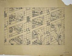 Fondation Le Corbusier - Projets - Immeubles-villas