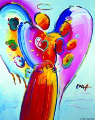peter max angel - Have this one.. beautiful.