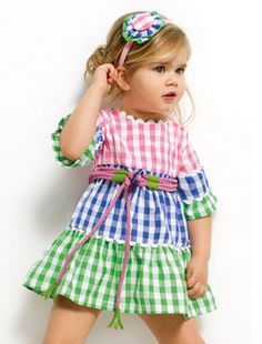 Image of Estelle Ruffle Little Dresses, Little Girl Dresses, Girls Dresses, Sewing For Kids, Baby Sewing, Toddler Dress, Baby Dress, Little Girl Fashion, Kids Fashion