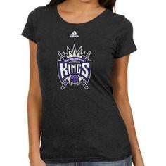 72a6adab4dd NBA adidas Sacramento Kings Women s Better Blank Primary Logo T-Shirt -  Black Indiana Pacers