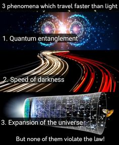 Astronomy Facts, Space And Astronomy, Earth And Space Science, Science And Technology, Physics Theories, Physics Facts, Quantum Entanglement, Weird Facts, Fun Facts