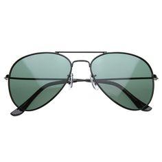 Premium Classic Polarized Lens Metal Aviator Sunglasses 6010