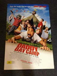 Daddy Day Camp Poster (2007) Comedy | Family DADDY DAY CARE pals Charlie and Phil are back in this hilarious, all-new adventure: DADDY DAY CAMP! When the dads expand their childcare magic to underdog Camp Driftwood, they discover that teamwork, combined with some down-right crazy antics, is the right mix to give the kids an unforgettable camp experience!  Director: Fred Savage Writers: Geoff Rodkey, J. David Stem Stars: Cuba Gooding Jr., Lochlyn Munro, Richard Gant
