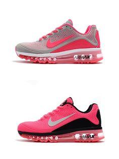 Cheap Nike Air Max 2017.5 KPU Gray Pearch Red,Pink White Women shoes Free  Shipping 325460b42b7c