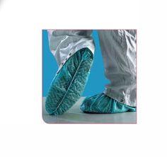 Copriscarpe standard PE rinforzato 13 micron pezzi per dispenser