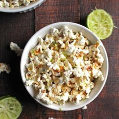 Lightly salted, zesty and bursting with lime flavor, this sea salt & lime popcorn is a must for the snack table!