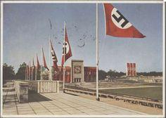 A beautiful shot of the Zeppelinfeld NSDAP Rally grounds in Nürnberg.