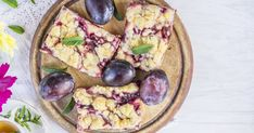 10 úžasných receptov so slivkami Healthy Cookies, Vegetable Pizza, Acai Bowl, Oatmeal, Cheesecake, Sweets, Baking, Vegetables, Breakfast