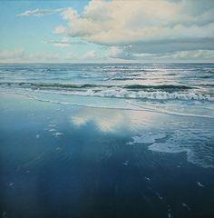 Hoe schilder ik: spiegeling in het water.   Mieke Rozing