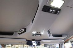 Department of the Interior roof console for Hema's LandCruiser 79 Dual Cab mapping and expedition vehicle. Landcruiser Ute, Landcruiser 79 Series, Custom Car Interior, Truck Interior, Accesorios Fj Cruiser, Land Cruiser, Fj Cruiser Interior, Sidekick Suzuki, Ram Accessories