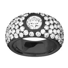 ReneSim Brilliant Diamond White Gold Ring by Maximilian Hemmerle. Diamond Earing, Diamond Jewelry, Jewelry Rings, Fine Jewelry, Jewellery, Jewelry Box, Vintage Engagement Rings, Diamond Engagement Rings, Antique Rings For Sale