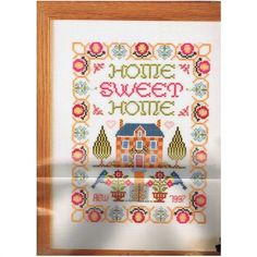 Home Sweet Home Sampler in Cross Stitch - magazine pages + chart Listing in the Patterns,Cross Stitch,Needlework,Crafts, Handmade & Sewing Category on eBid United Kingdom | 148851713