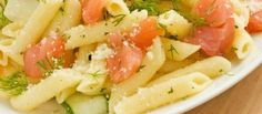 Penne Met Zalmsnippers recept | Smulweb.nl