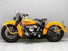 45 WL Harley Davidson Chopper, Harley Davidson Engines, Harley Bobber, Vintage Harley Davidson, Harley Davidson Motorcycles, Hd Motorcycles, Antique Motorcycles, Hd Vintage, Vintage Bikes