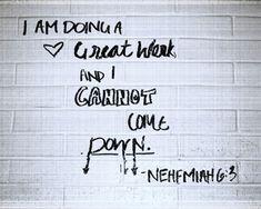 Nehemiah 6:3