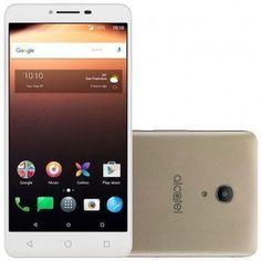 """Smartphone Alcatel A3 XL Dual Tela 6.0"""" Dourado 16GB Câmera 8MP << R$ 37999 >> #SmartphoneAlcatel"""