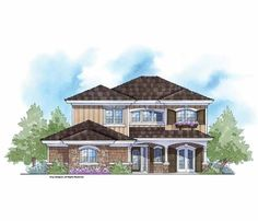 Eplans French Country House Plan - Grand Entertaining from the Energy Saver Plus Collection - 2915 Square Feet and 4 Bedrooms from Eplans - House Plan Code HWEPL69678