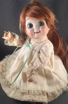 Antique Reproduction JDK Kestner 221 Googly Eye Doll 11