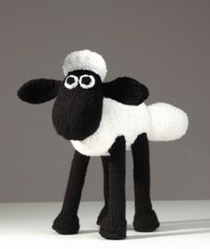 Shaun the Sheep (crochet) by Linda Smith | style2deco.com