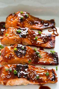 Salmon Recipes, Fish Recipes, Seafood Recipes, Asian Recipes, Chicken Recipes, Crockpot Recipes, Soup Recipes, Dessert Recipes, Desert Recipes