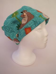 Medical Scrub Hat Theatre Surgical Cap  'The by SnazzyScrubHats