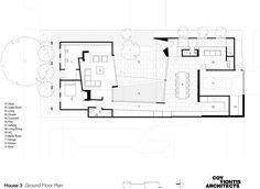 Image 23 of 25 from gallery of House 3 / Coy Yiontis Architects. Floor Plan