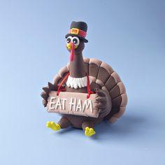 Goofy Gobbling Turkey craft