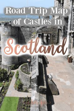 Road Trip Map of Castles in Scotland Taking a trip to Scotland to see castles is a vacation everyon Scotland Travel Guide, Scotland Vacation, Ireland Travel, Scotland Sightseeing, Scotland Trip, Aberdeen Scotland, England And Scotland, Scotland Castles, Scottish Castles