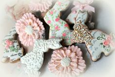 """Shabby Chic Cookies 