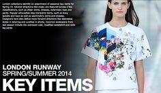 Key items spring 2014, love this print