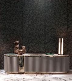 Ca 'Foscari Livingroom Design Alessandro La Spada - Ca 'Foscari Livingroom Design Alessandro La Spada You are in the right place about cosy bedroom - Bedroom Storage Cabinets, Interior Design Institute, Design Interior, Tv Cabinet Design, Sideboard Furniture, Credenza, Living Room Designs, Designer, Mid-century Modern