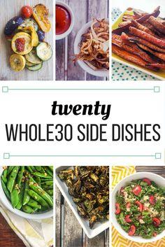 Twenty Whole30® Side Dish Recipes   Slender Kitchen