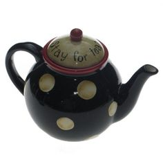 Stay for tea! and it is polka dot!
