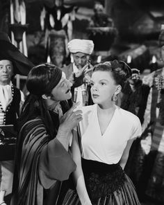 Gene Kelly and Judy Garland in The Pirate directed by Vincente Minnelli, 1948