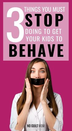 We all struggle with those challenging behaviors and how to make them stop. Helpful positive parenting advice with 3 things you must stop doing right now to get them to stop those behaviors. Learn how to correct those bad behaviors, fix the bad attitude, and stop the whining. A must-read for parents with toddlers, school-age, tweens, and teens. #parentingtips #parentinghacks #momtips #kidsbadattitude #correctingbadbehavior #parentingskills #positiveparenting via @noguiltmom Guilt Quotes, Toddler Discipline, Chores For Kids, Kids Behavior, Child Life, Working Moms, Mom Humor, Parenting Advice, Parenting Tips