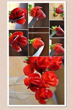 Jordbær-roser