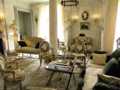 the restored french chateau ~ Jacques Garcia