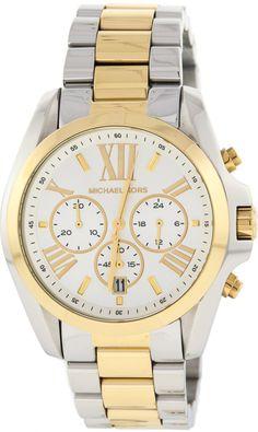 Michael Kors Watch , Michael Kors Women's MK5627 Bradshaw Gold/Silver Watch